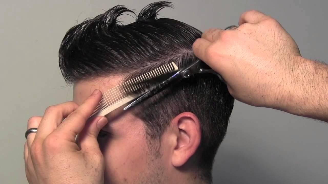 Фото как сделать мужскую стрижку